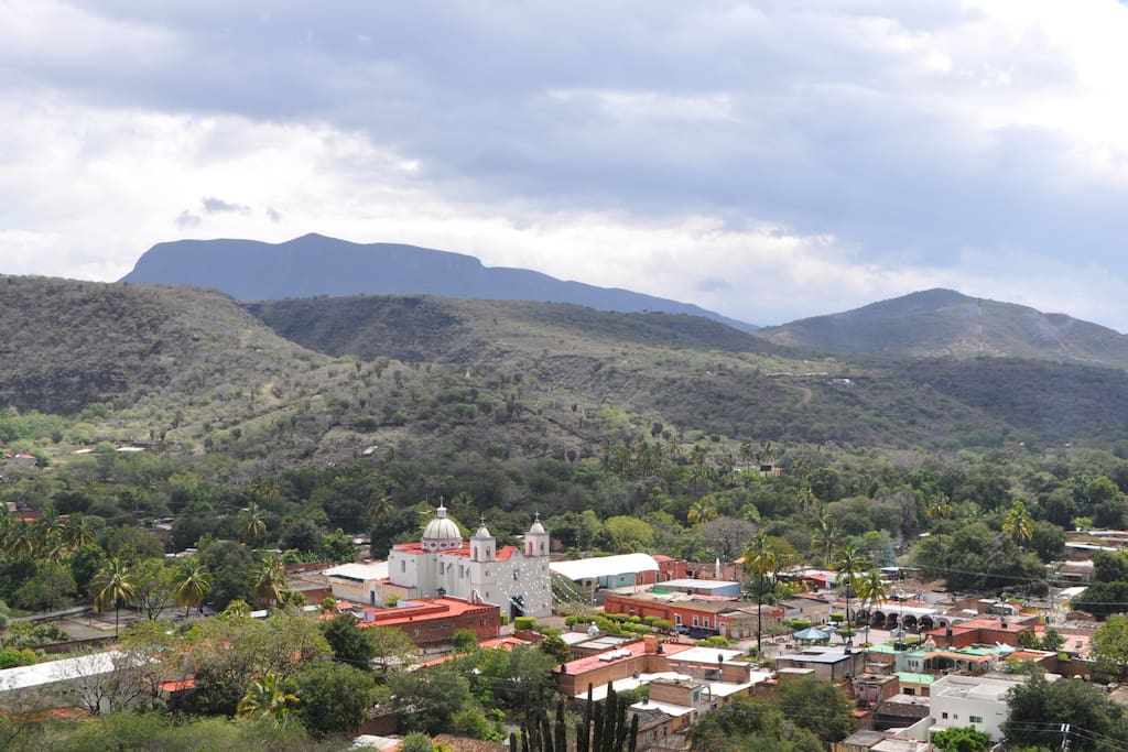 Toliman is a town in the state of Jalisco, about 2.5 hours from Guadalajara.