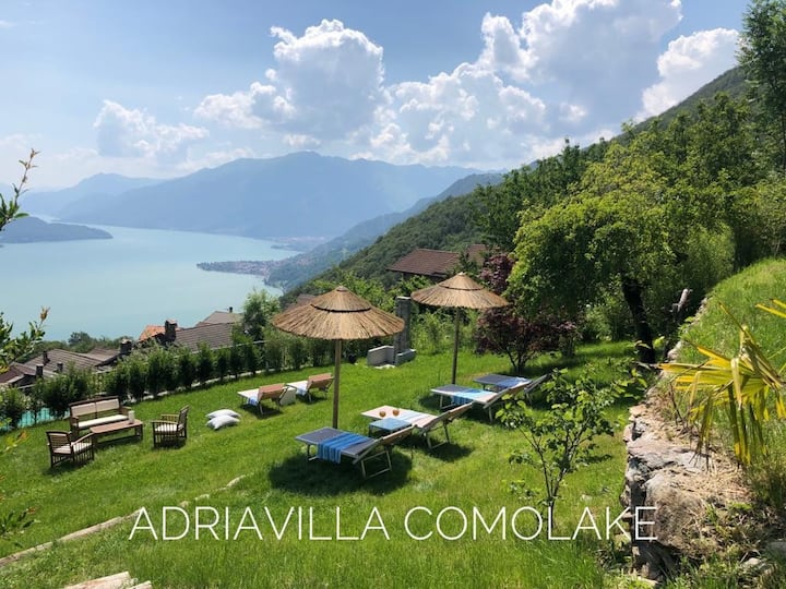 Elegante suite con  vista sul lago di Como
