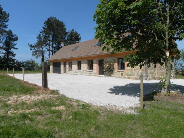Le 300 Gite rural très calme rénové proche mer - Ouainville - Huis