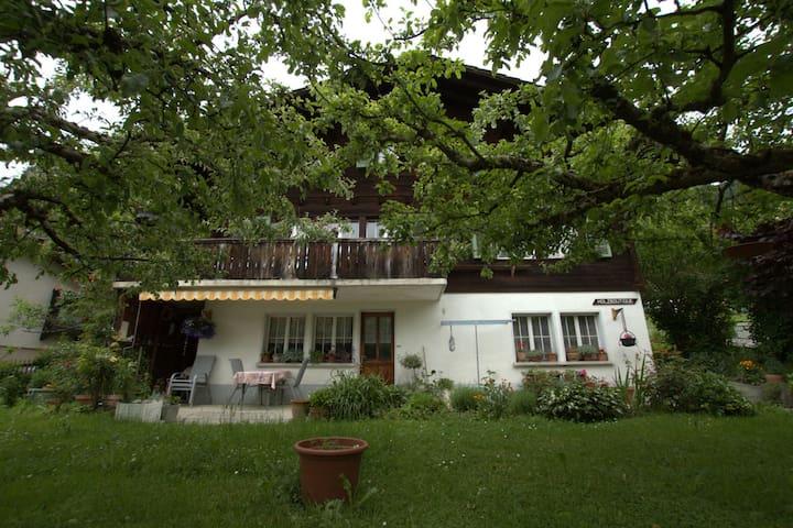 Appartement ensoleillé près du lac de Brienz