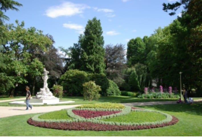 Studio jardin des Prébendes