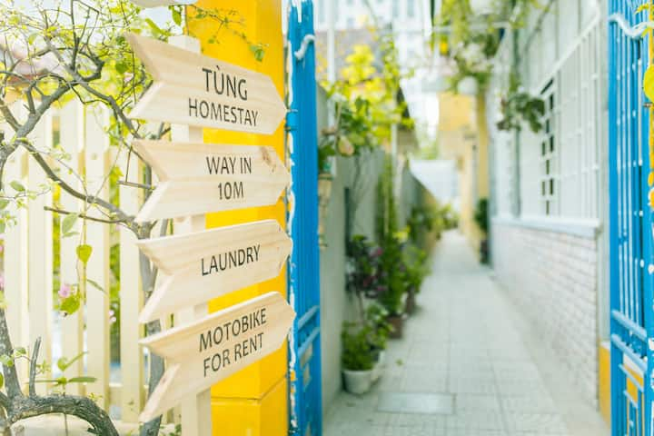 Tùng Homestay -Traditional 3BRs Home In Huế Center