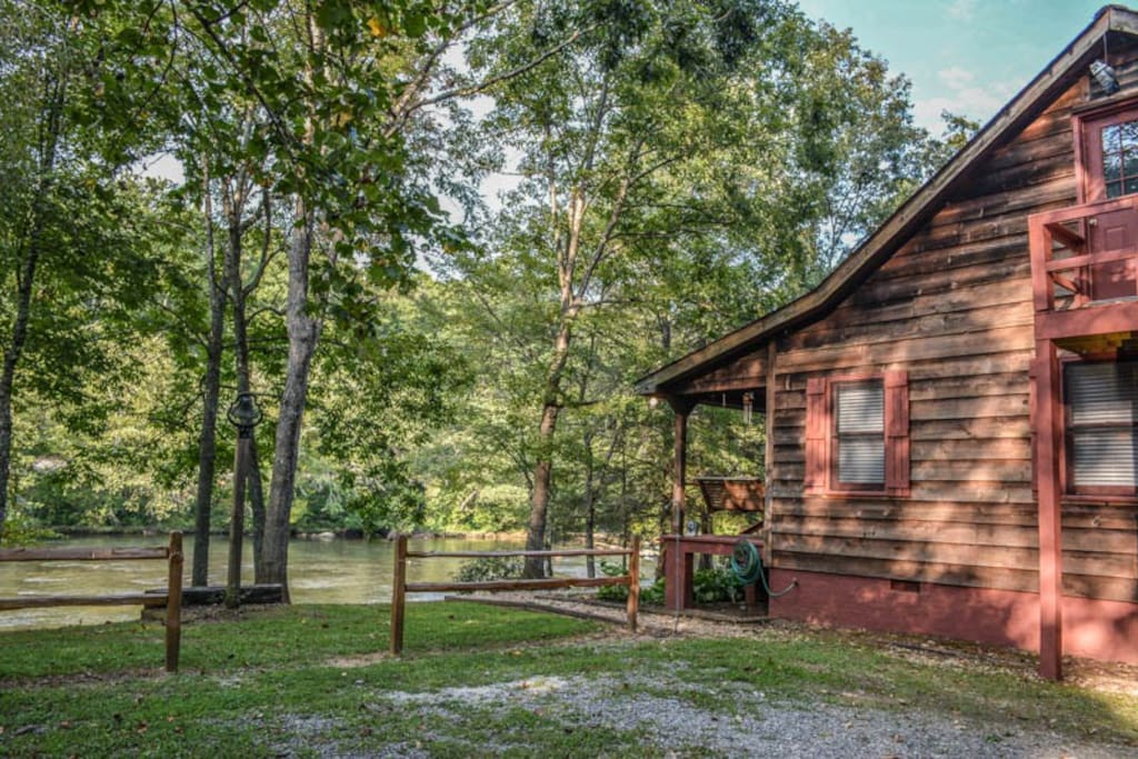 Mlc Riverside Cabins For Rent In Mineral Bluff Georgia