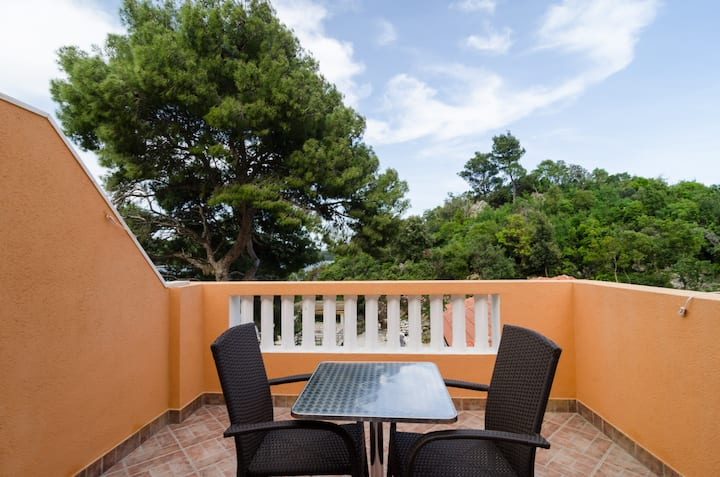 Apartments Vinko Mljet- One-Bedroom Apartment with Terrace (A5)
