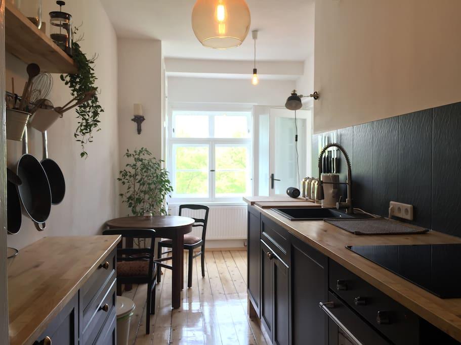 Küche zum mitbenutzen und kochen