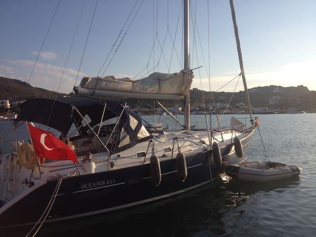 Sailing Boat in Bodrum (Gökova & Hisarönü)