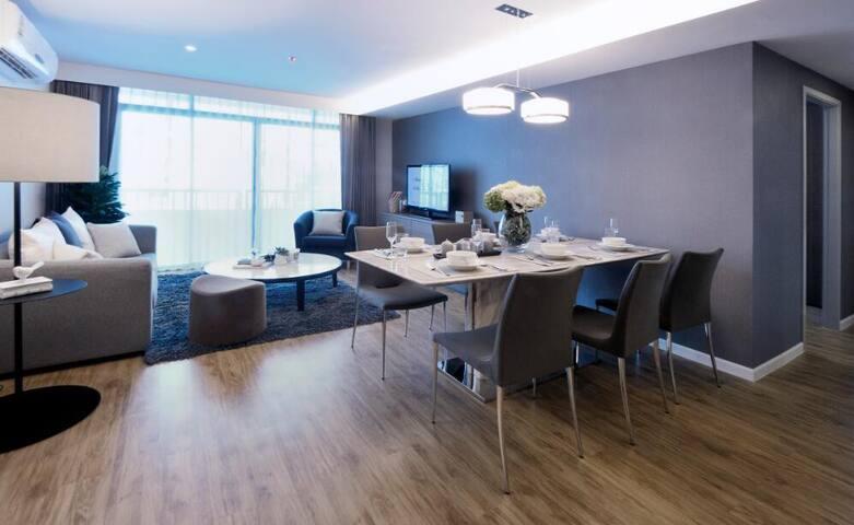 Deluxe Family Suite Roomme@Siamese Nang linchee - Bangkok - Kondominium