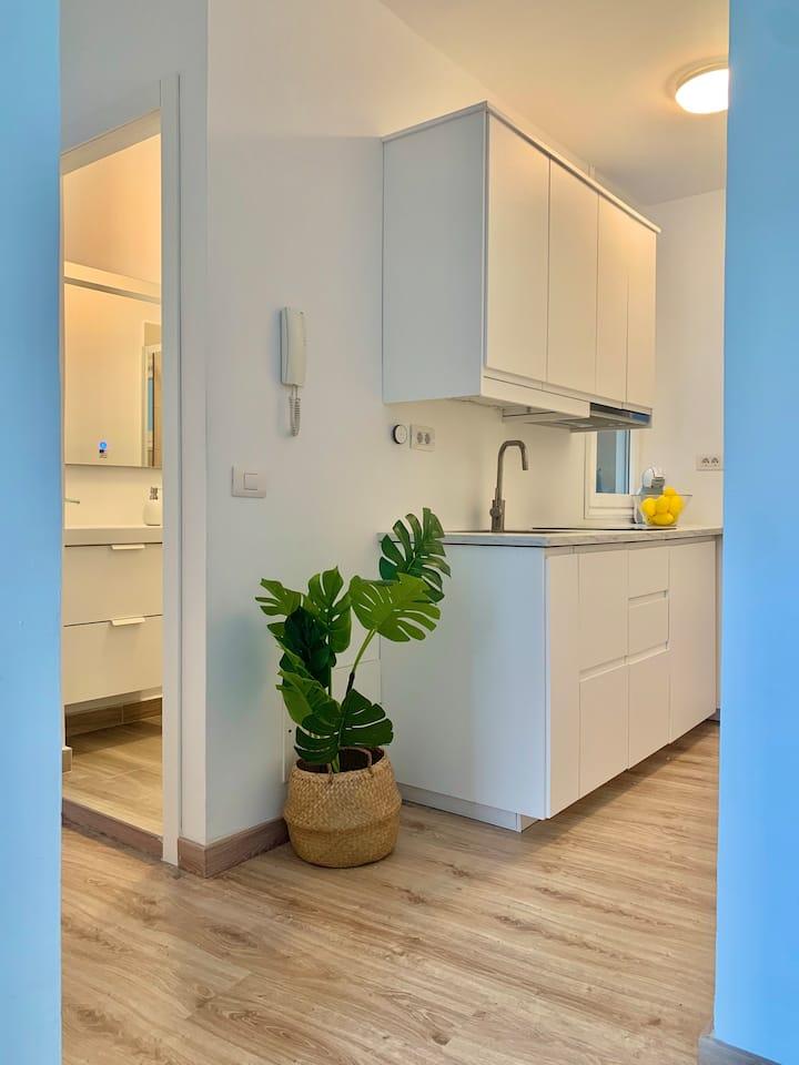 Increíble apartamento centro de la ciudad y playa