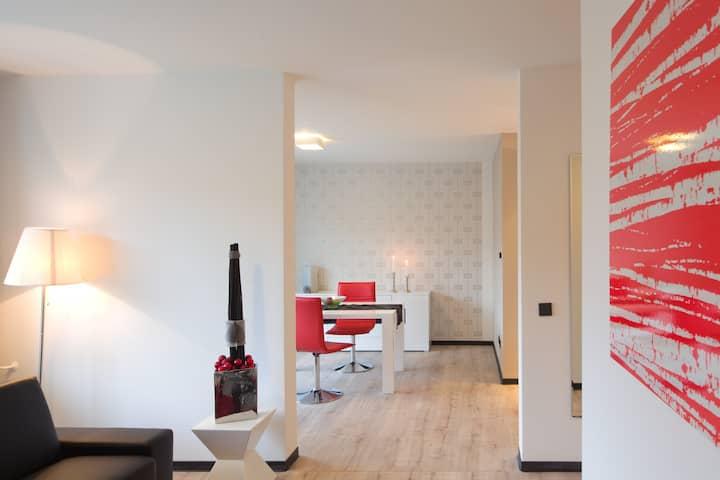 Stilvolles 55m² Apartment - mit exkl. Hotelservice