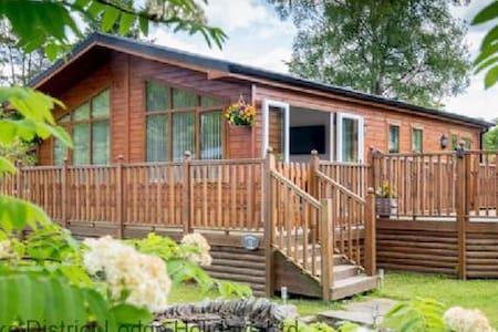 Grandpa's Lodge, White Cross Bay Holiday Park