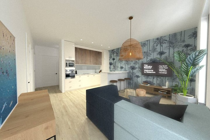 1BD · The Laundry Rooms - One Bedroom Apartment