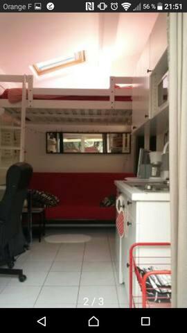 Magnifique studio dans maison - La Grande-Motte - Haus