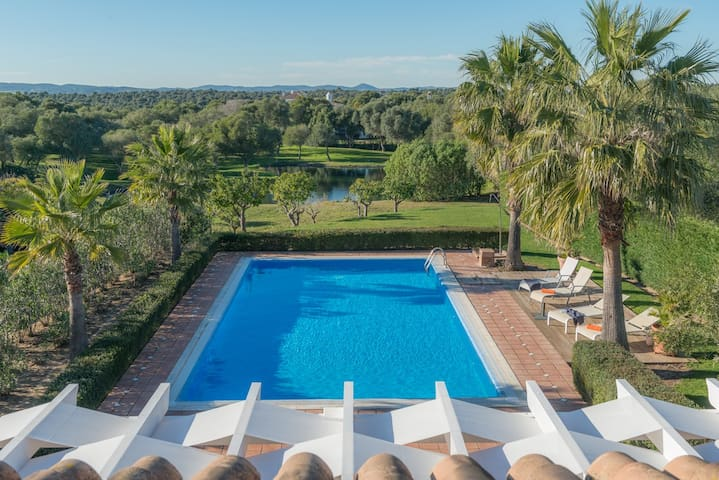 Rosa-Villa lovely bright & private pool - Benalup-Casas Viejas - 別荘