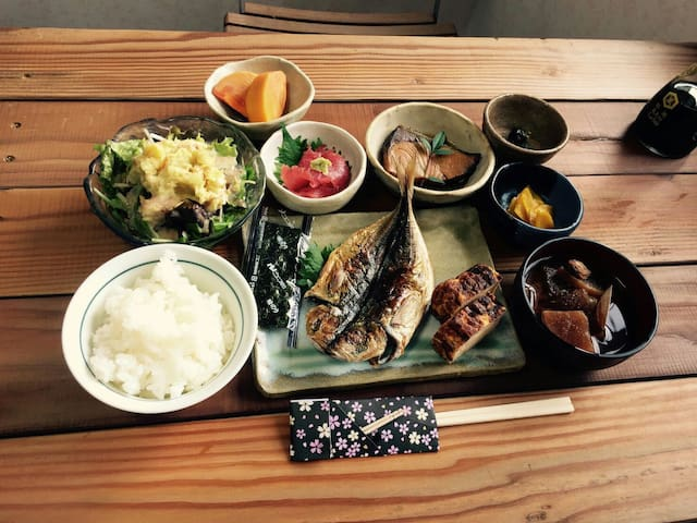Breakfast including!!relaxing room! - Fujisawa-shi - Huis