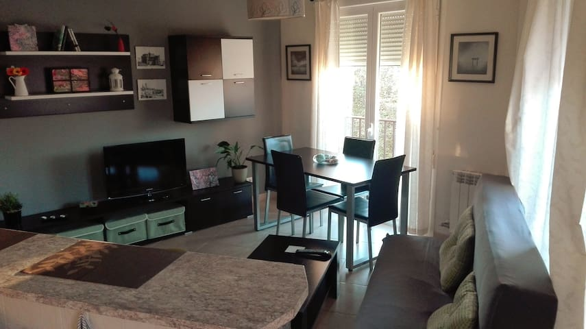 Apartamento luminoso y tranquilo.