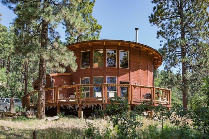 Unique Yurt-style Home
