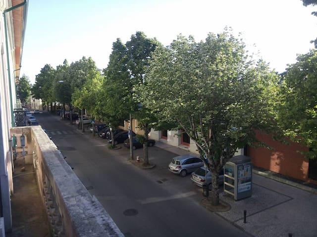 Street view from upper floor
