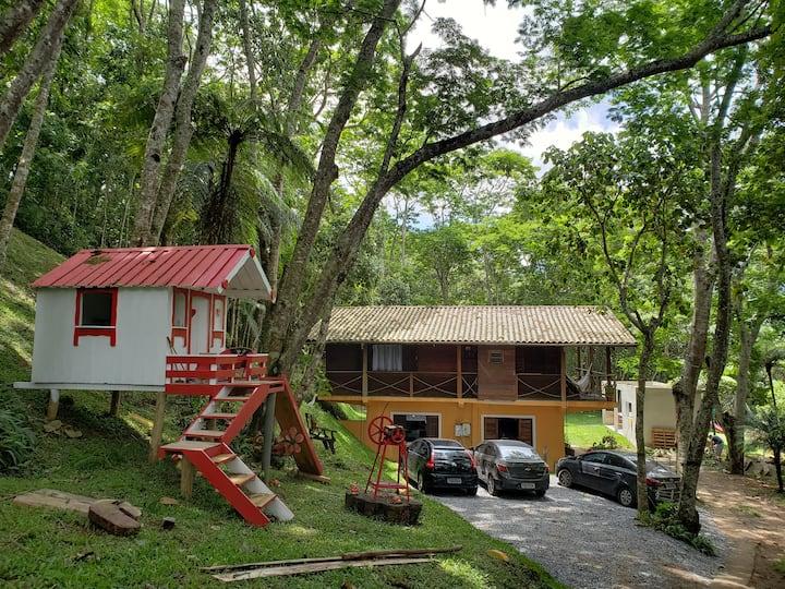 Casa de Campo no Centro de Santo Antonio do Pinhal