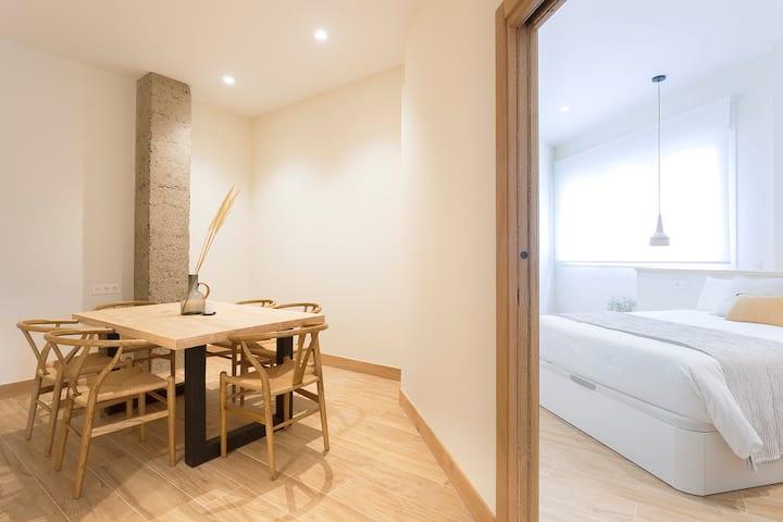 NEW Getaria Apartamentuak-Balentziaga BOST-PARKING