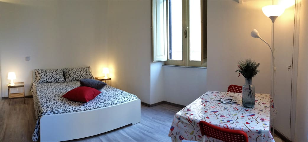 Trastevere spacious triple room & private bathroom