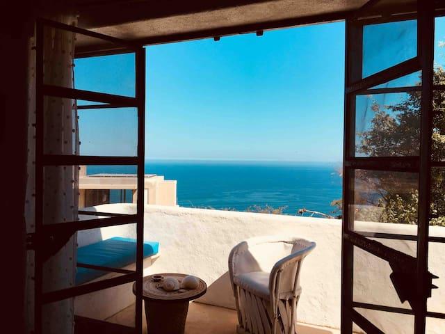 Sea view from Casita Azul