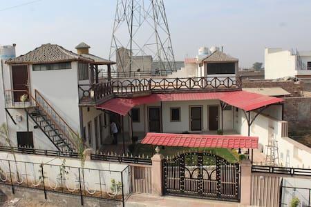 Farm House Style Open House - House