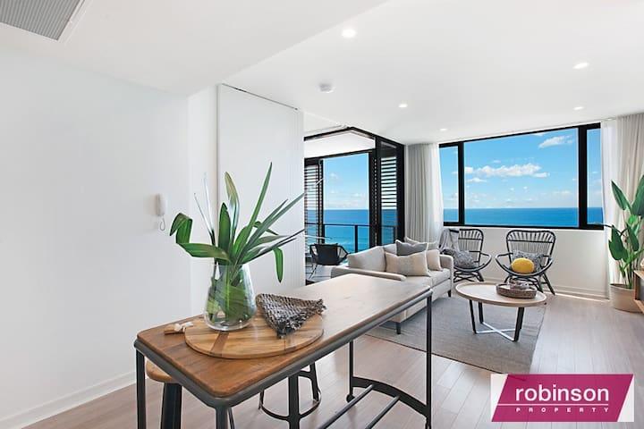 Spacious Beachfront Apartment