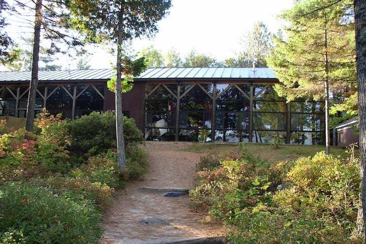 Bunkhouse at Penobscot Outdoor Center....