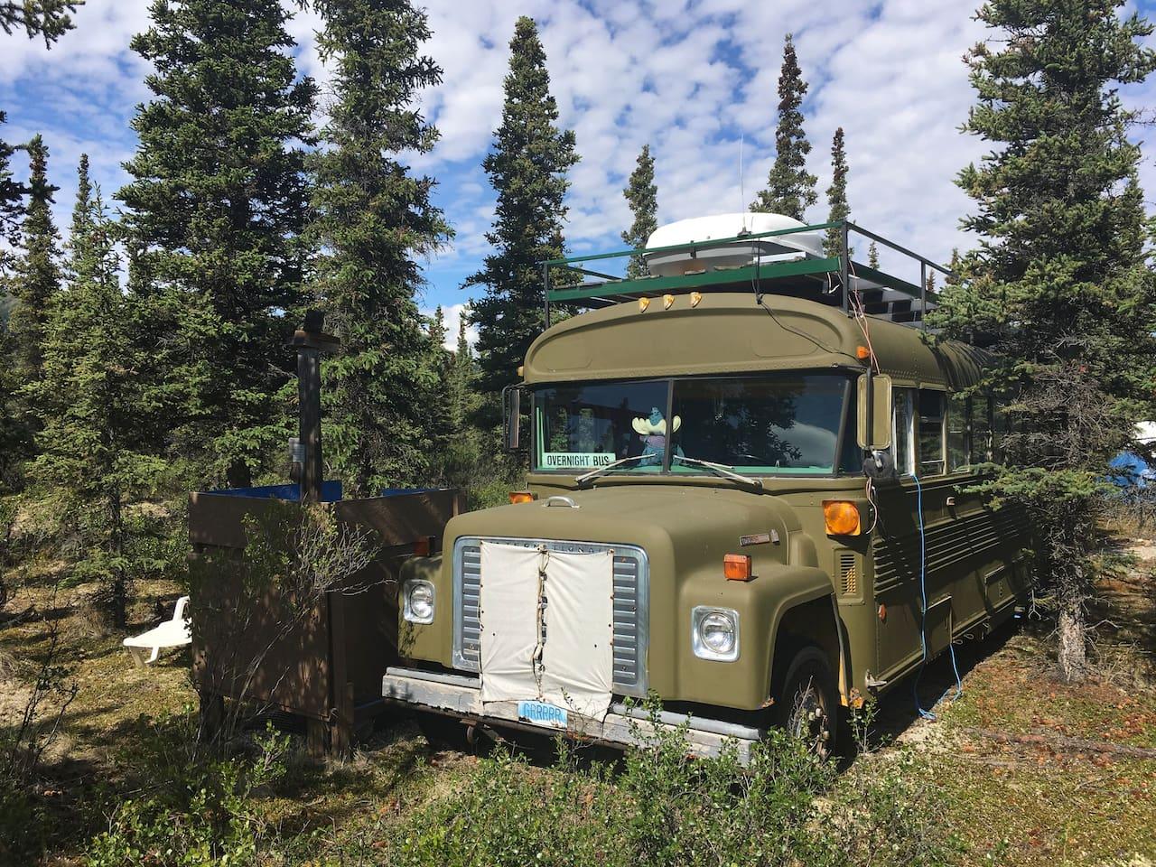 1979 Bluebird School bus Converted, Airbnb