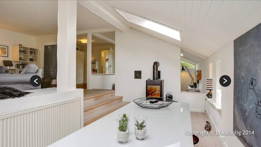 Fantastisk bolig med god beliggenhed - Stenløse - House
