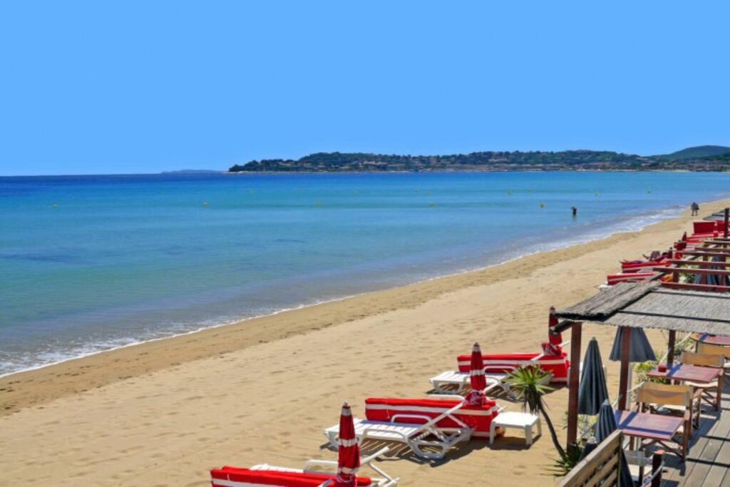 Grandes plages privées et publiques