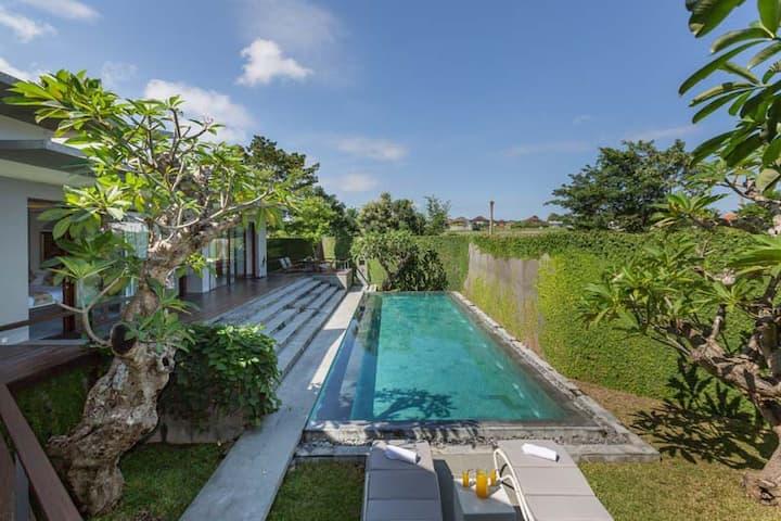 Contemporary 2BRV, Cheap Private Villa In Canggu