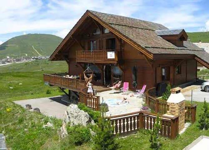 Chalet Namika 14 bed Luxury Chalet in Alpe d'Huez - Huez - Bungalo