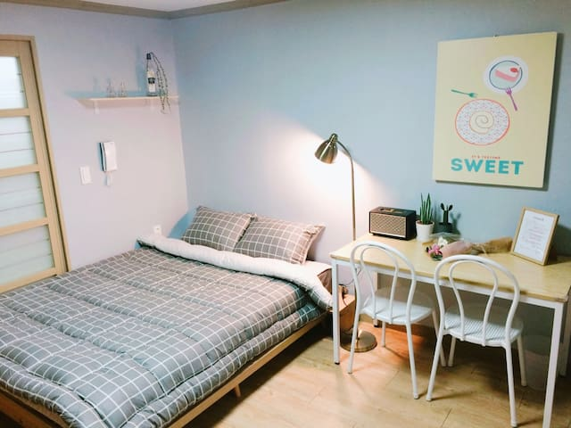 포항영일대 해수욕장근처/ Fika's room #204. Near beach - Buk-gu, Pohang - Appartement