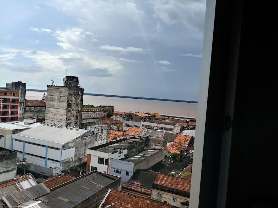 Vista para Baía do Guajará