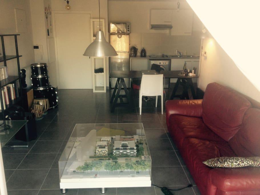 Salon 27 m2