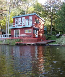Entire Cabin on Crooked Pond Cabin - Plainfield - Zomerhuis/Cottage