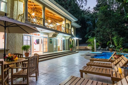 Private Gated Jungle House with Private Security