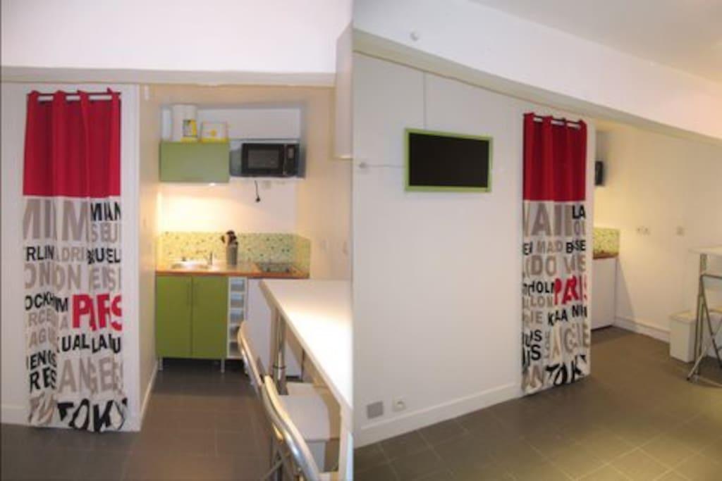 Studio meubl au coeur de rouen appartements louer for Location meuble rouen