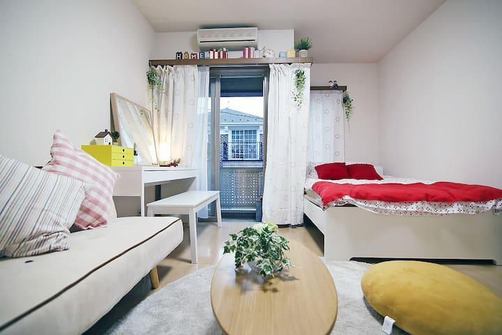 位于涩谷深处的宽敞公寓 S302
