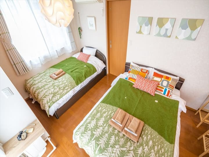 Direct Access Shinjuku! Balcony&Free Parking!