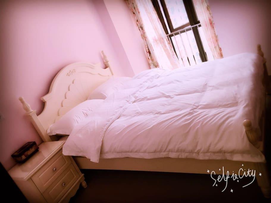 浪漫双床房