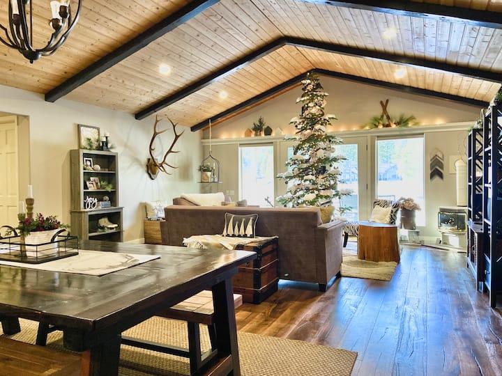 Christmas family fun & relaxation by ski resort