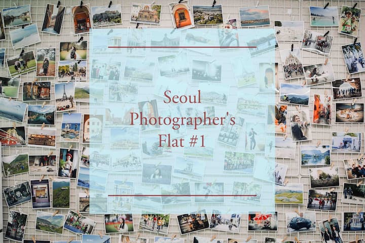 Seoul Photographer's Flat #1 서울 사진작가의 집 1호