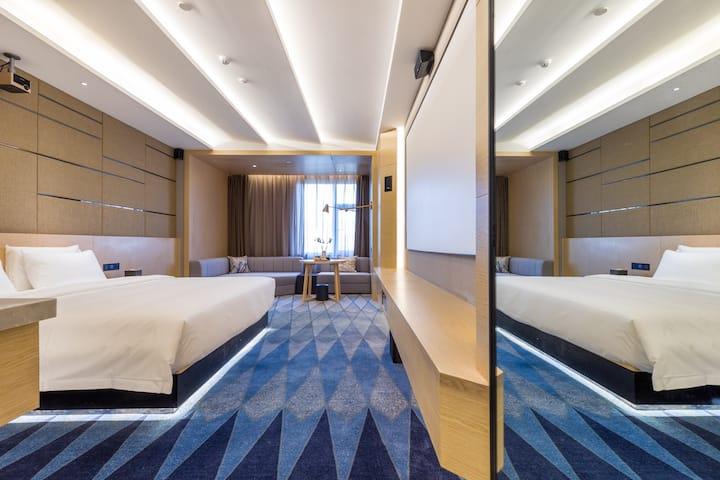 安心住放心住,酒店式公寓,巨幕影城尊享影音房