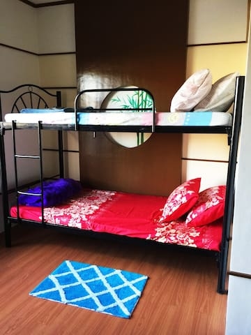 Double Deck Bed with Wide Space