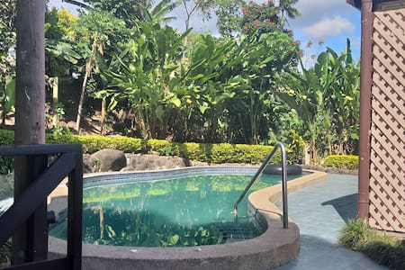 Large established house, private grounds & pool
