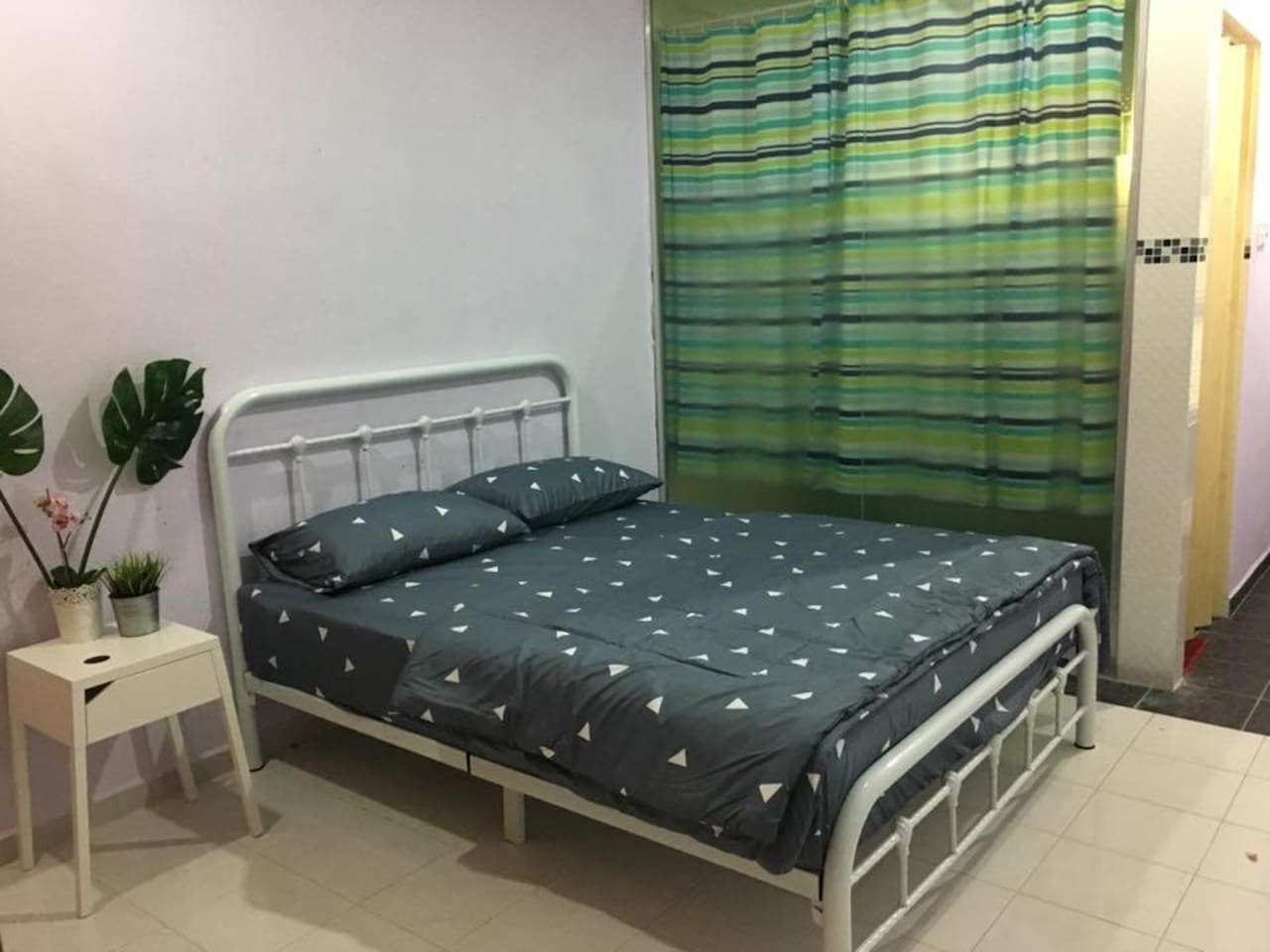 Master bedroom with attach bathroom. Air conditioned.