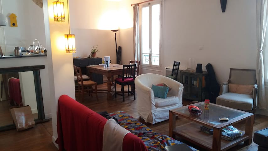 Colocation sympa dans une maison à Montreuil - Montreuil - Huis