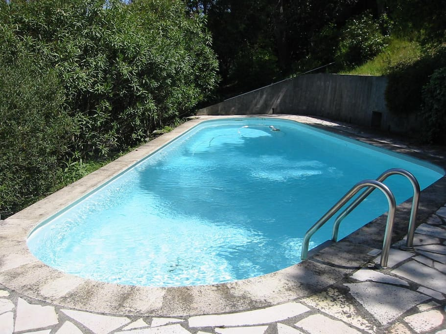 Private pool (now fenced)